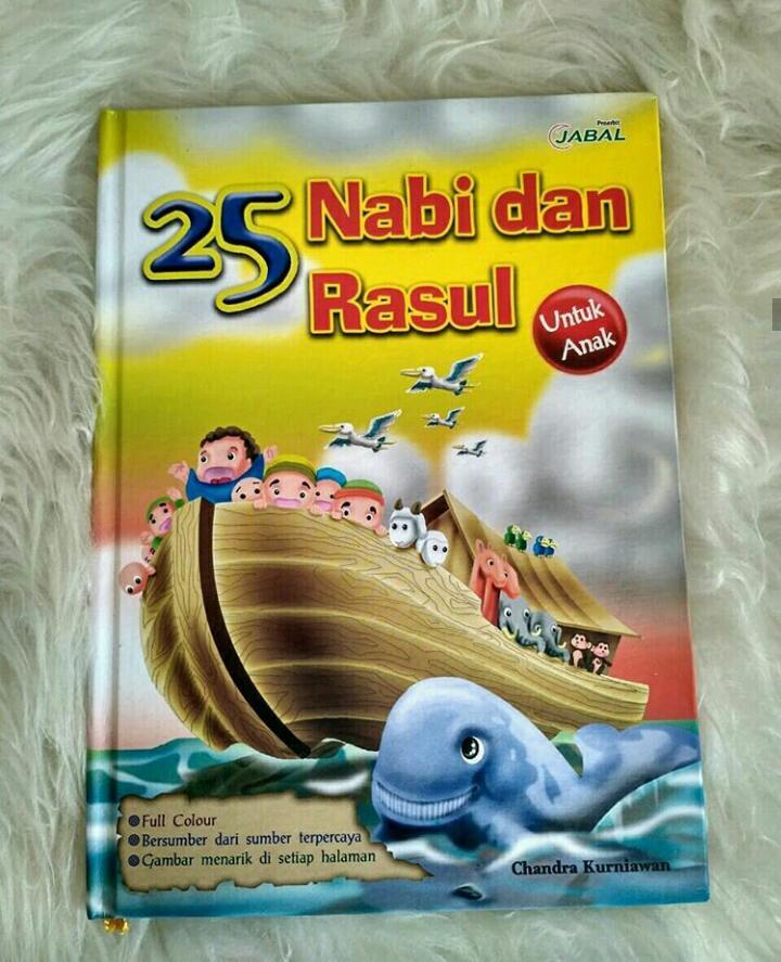 buku kisah 25 nabi untuk anak-anak. harga grosir